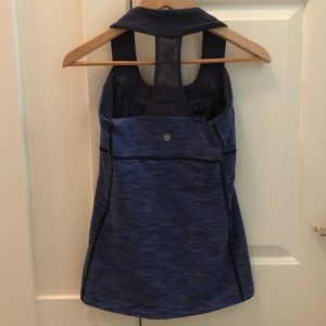 lululemon athletica Tops - Lululemon Blue Tank